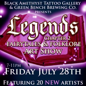 St Pete Tattoo Legends Art Show Chapter 2 for Instagram