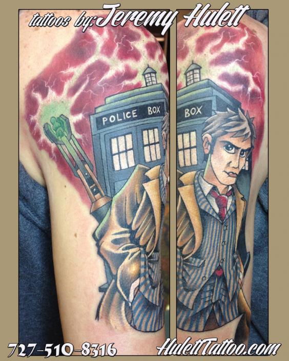 St Pete Tattoo Jeremy Hulett Dr Who