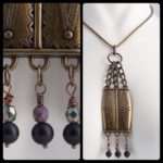 St Pete Tattoo Joanna Coblentz Bold Necklace with Hanging Beads