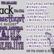 St Pete Tattoo Second Annual Art and Ink Show Flyer