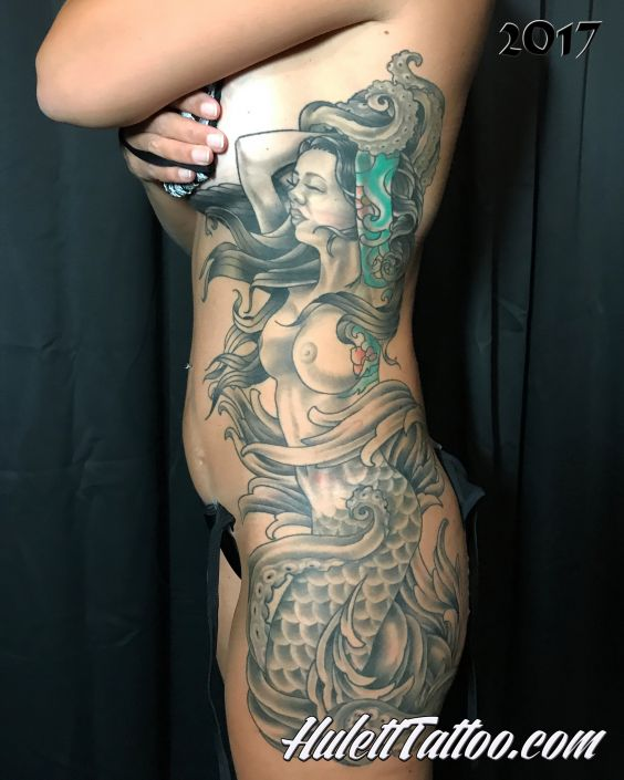 St Pete Tattoo Mermaid Tattoo by Jeremy Hulett