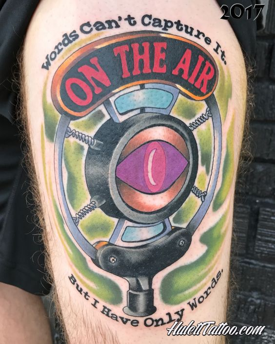 St Pete Tattoo On The Air Microphone by Jeremy Hulett
