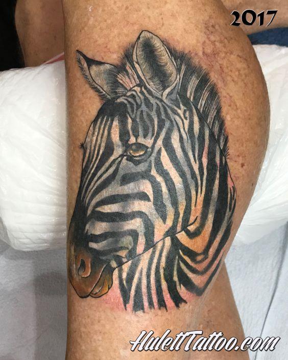 St Pete Tattoo Zebra Calf by Jeremy Hulett