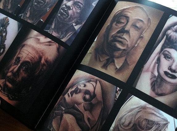 Tattoo Portfolio for Tattoo Blog Post