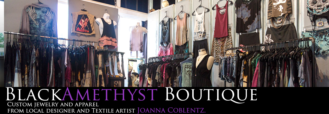 St Pete Tattoo Black Amethyst Boutique Header