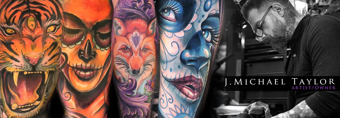 St Pete Tattoo J Michael Taylor Header