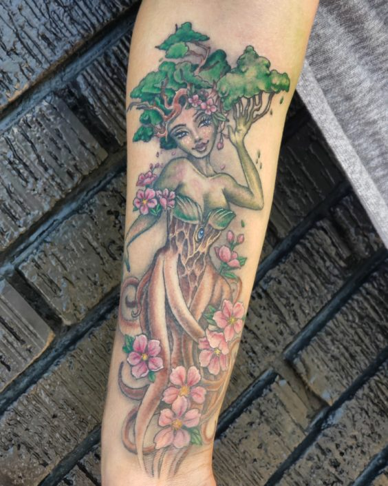 Mother Nature St Pete Tatoo