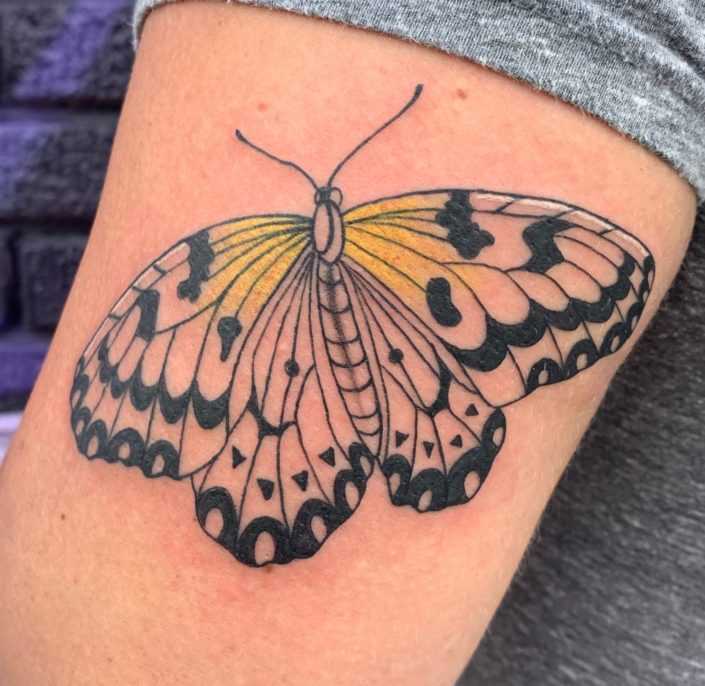 Butterfly Tattoo by Shannon Haines
