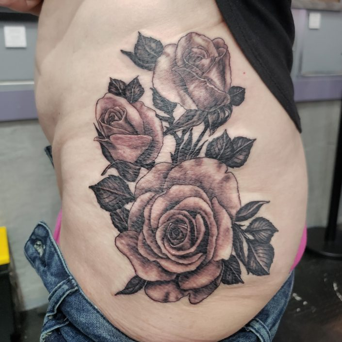 Hip Roses St Pete Tattoo