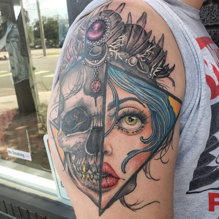 Life and Death Royalty St Pete Tattoo